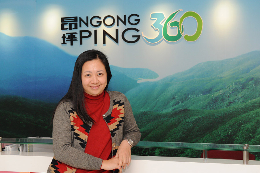 Conquering Height: IVE graduate Fanny Wong strives to become a Professional Engineer at Ngong Ping 360