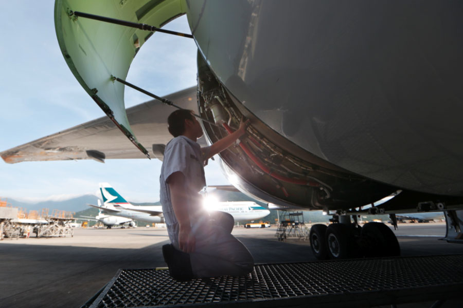 Graduates Pursue a Bright Career in Aircraft Maintenance Engineering