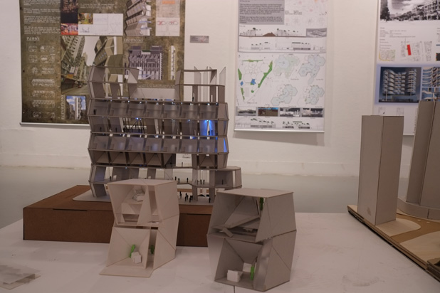 A showcase of architectural talents – Student Project Exhibition 2015