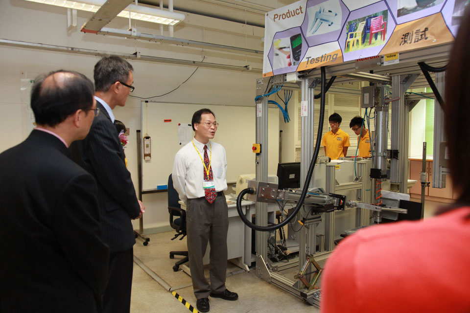 Opening of the Testing & Calibration Centre at IVE (Tuen Mun)