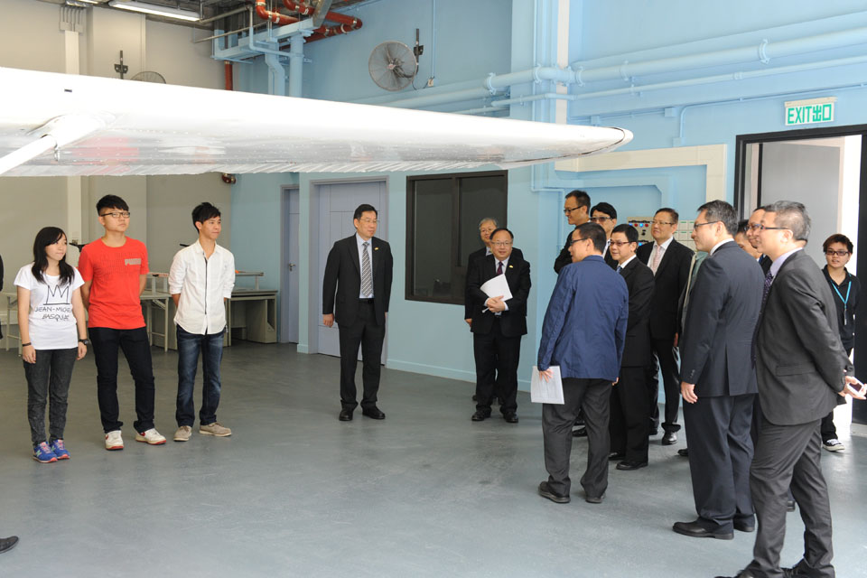 Delegates of Hong Kong Civil Aviation Department visits IVE