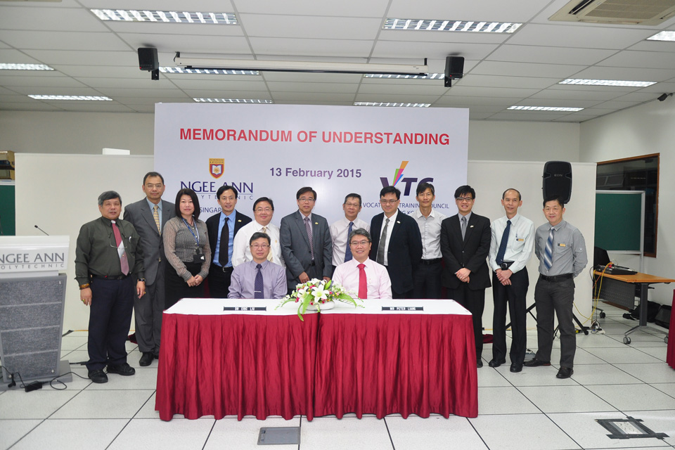 IVE Engineering deepens ties with Ngee Ann Polytechnic, Singapore