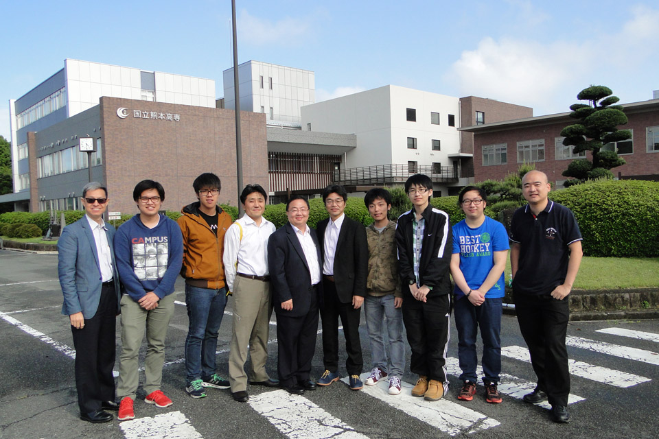 Cultural and engineering enlightenmentExchange trip opens minds of IVE students