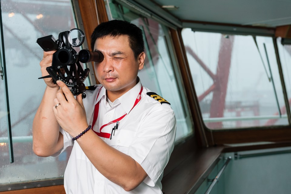 From Deck Cadet to Maritime Officer<br>Kwok Ka-him continues to steam ahead in his maritime career journey