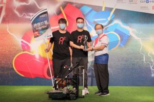 IVE Engineering Students win 2nd Runner-Up in Robocon 2020 Hong Kong Contest