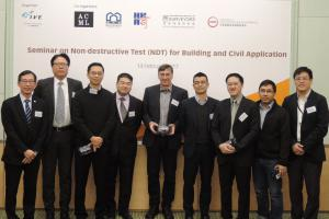 Seminar on non-destructive tests for building and civil applications