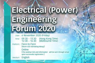 Electrical (Power) Engineering Forum: Innovation and Technology in Energy and Power Engineering for Smarter and Greener Living