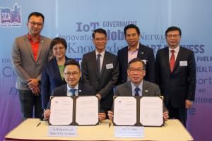VTC and SCA launch first Professional Diploma in Smart City—enhancing industry talent competencies