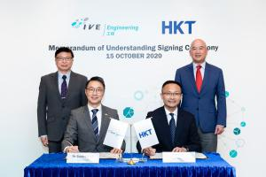 Memorandum of Understanding (MoU) Signing with CLP, HKT, Siemens on Nurturing IoT Talents