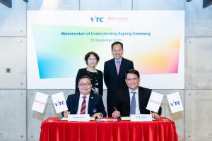 VTC Signs MOUs with Polytechnics of Singapore