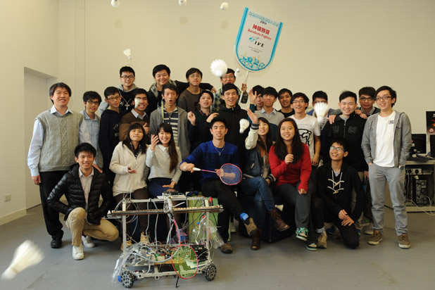 Exchange Activities MIT students visit IVE Robocon Teams (Jan 2015)