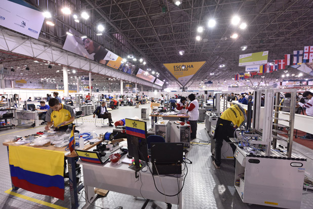 IVE Engineering representatives shine in the WorldSkills Competition Sao Paulo