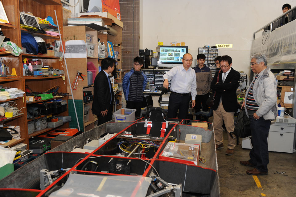 Japanese Scholars visited IVE Engineering to study Post-secondary Education in Hong Kong