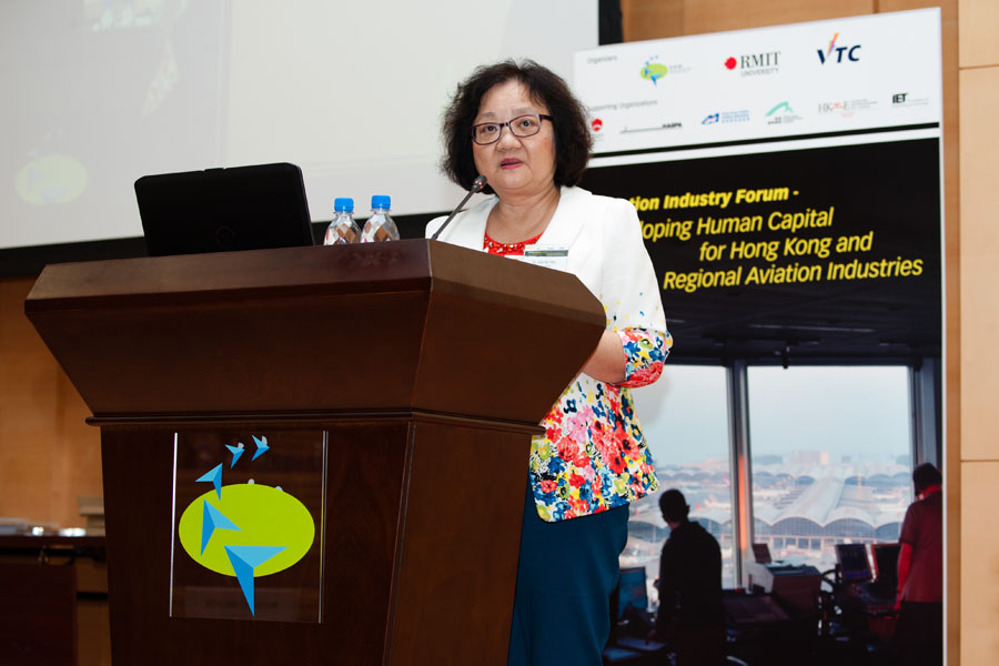 Study Fun Aviation experts from Hong Kong and Australia gather in Hong Kong for developing human capital forum  (Oct 2015)