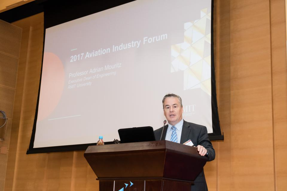 學習趣聞 - Aviation Industry Forum 2017—gathering of aviation expertise from Hong Kong and Australia (2017 年 5 月)