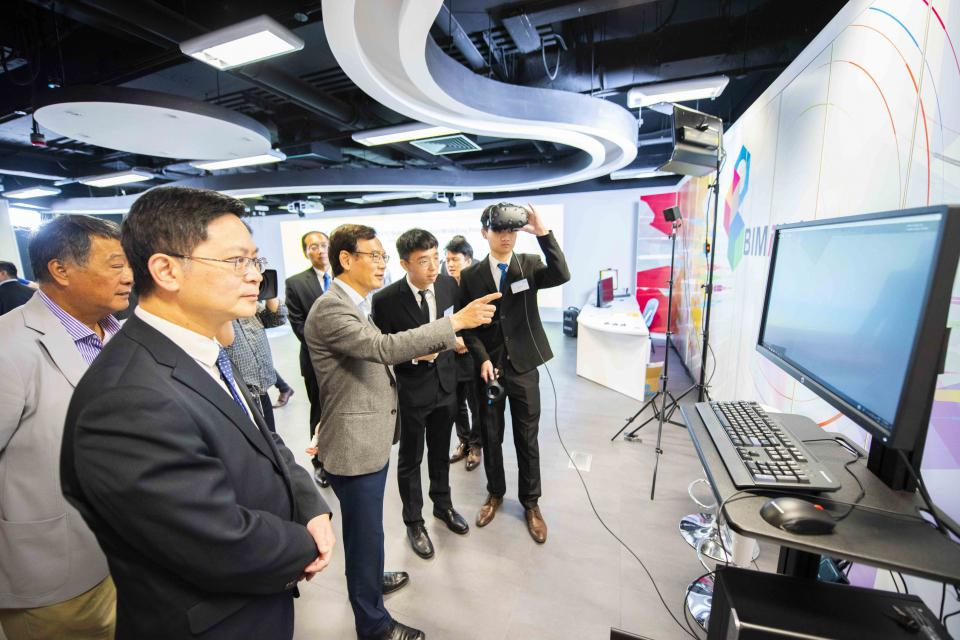 Study Fun VTC BIMiHub unveiled to promote development of innovative technologies and help grasp the latest industry know how (Nov 2018)