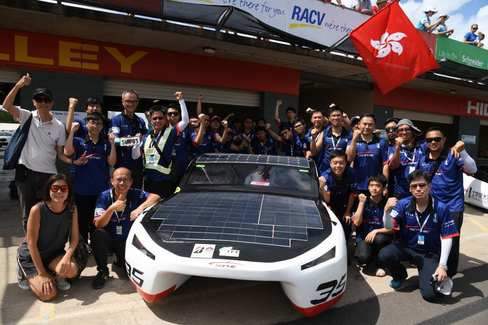 Student Achievement International recognition for IVE Solar Car at World Solar Challenge  3000 km adventures showcase how far SOPHIE has come  (Dec 2017)