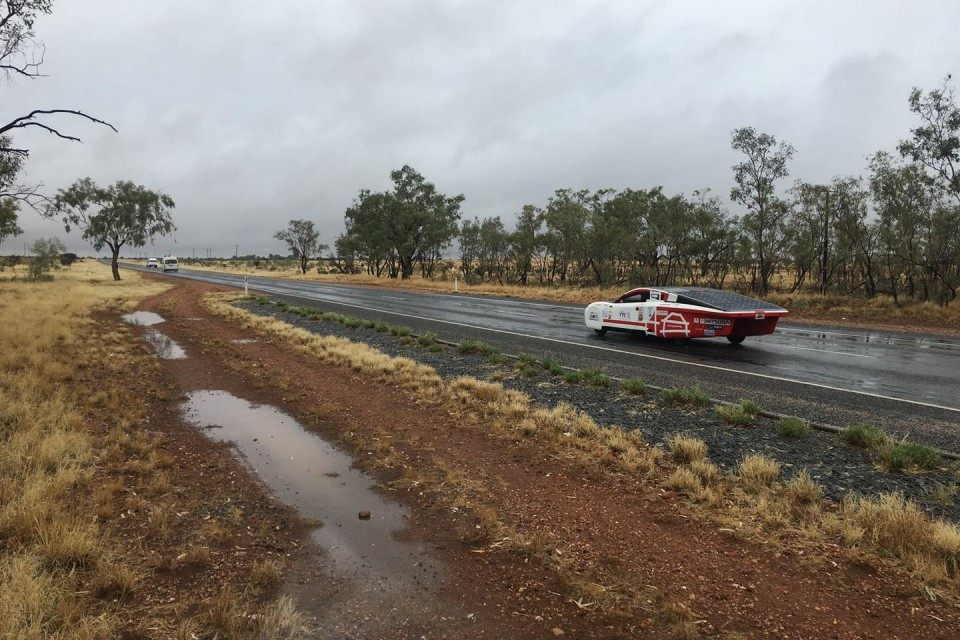 Student Achievement Solar-powered car SOPHIE VI developed by IVE emerges with flying colours in World Solar Challenge 2017 in Australia (Oct 2017)
