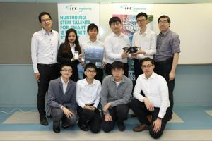 HKIE Electronics Project Competition 2019