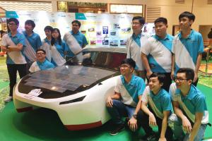 New solar-powered car SOPHIE VI by IVE Engineering Discipline to take part in World Solar Challenge in Australia in October