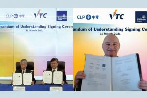 Memorandum of Understanding (MoU) Signing with CLP and University of Strathclyde, UK on Nurturing Smart Power Engineering Talents